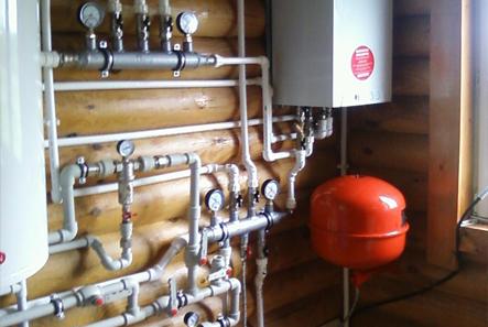 Монтаж систем отопления загородного дома