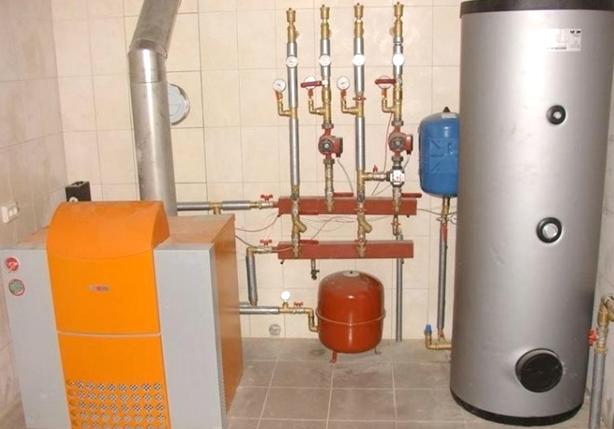 Газовый котёл для отопления частного дома