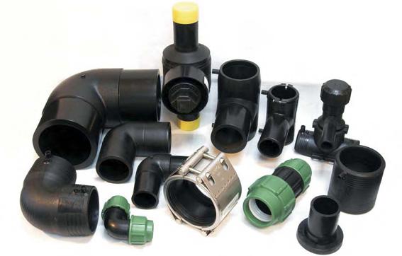 Трубы и фитинги ПНД для водопровода
