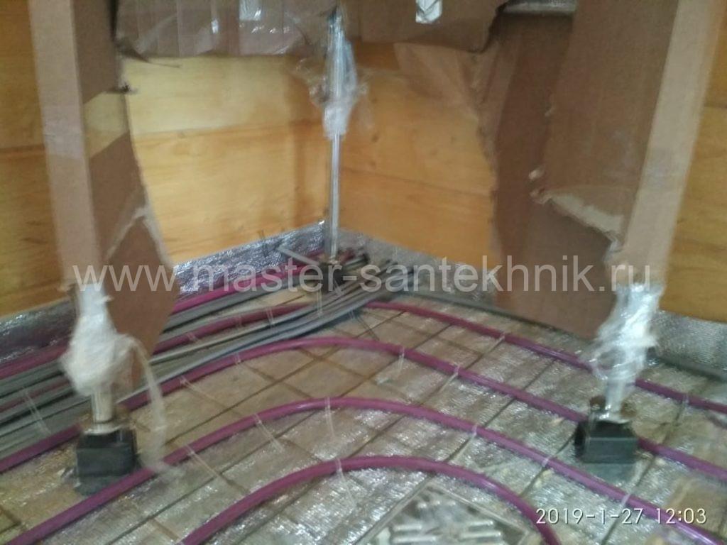 Электрический теплый пол или водяной теплый пол
