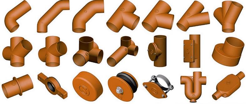 Чугунные трубы и комплектующие